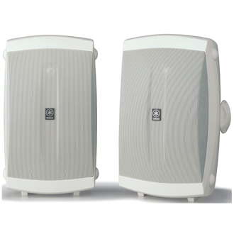 Yamaha NS-AW350W High Performance Outdoor 2-way Speakers