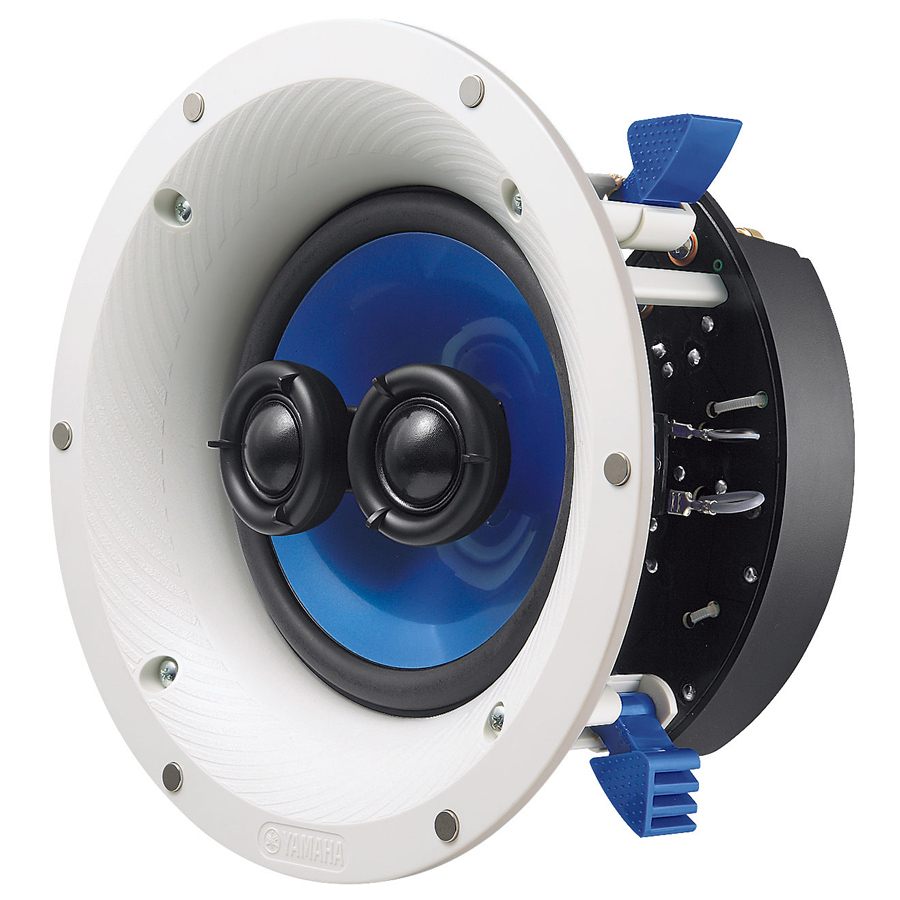 Yamaha NS-ICS600WH Single Stereo In-Ceiling Speaker