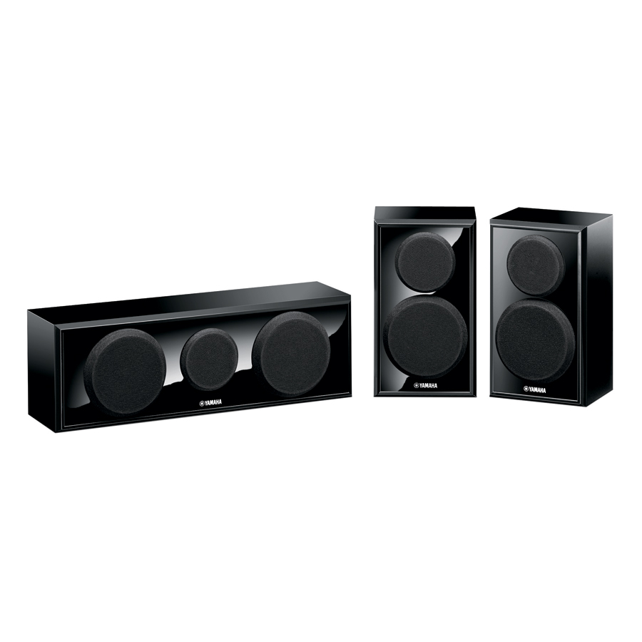 Yamaha NS-P150PN Center and Two Surround Speakers Package