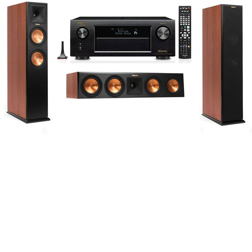 Klipsch RP-260F Tower Speakers CH-3.0-Denon AVR-X3200W