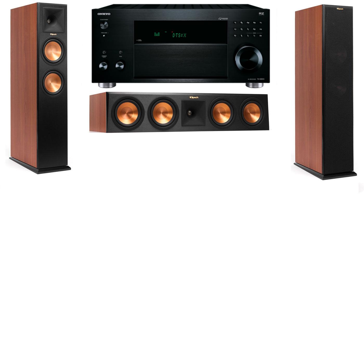 Klipsch RP-260F Tower Speakers CH-3.0-Onkyo TX-RZ810