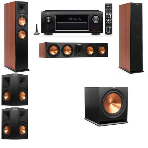 Klipsch RP-260F Tower Speakers CH-5.1-Denon AVR-X3200W