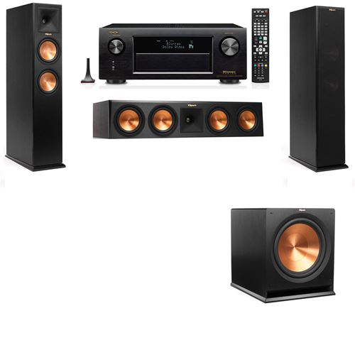 Klipsch RP-260F Tower Speakers-3.1-Denon AVR-X3200W
