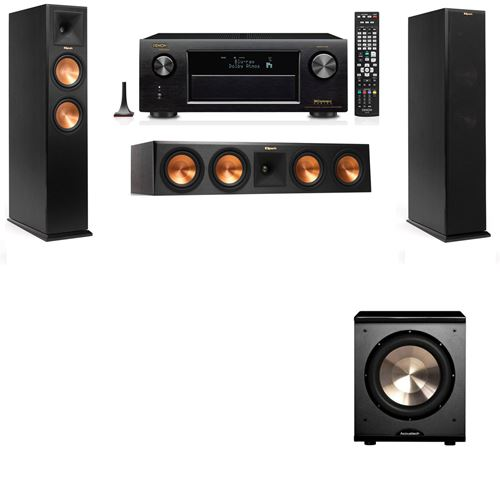 Klipsch RP-260F Tower Speakers-PL-200-3.1-Denon AVR-X3200W