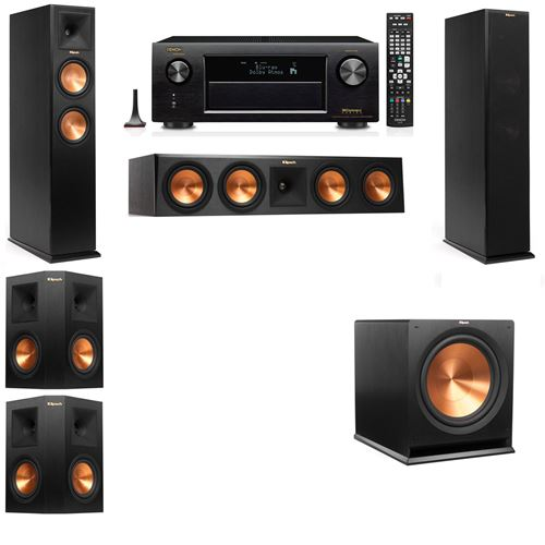 Klipsch RP-260F Tower Speakers-5.1-Denon AVR-X3200W