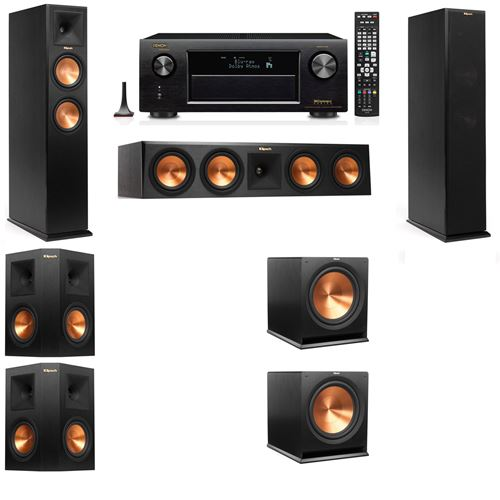 Klipsch RP-260F Tower Speakers-5.2-Denon AVR-X4200W