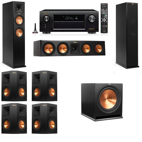 Klipsch RP-260F Tower Speakers-7.1-Denon AVR-X4200W
