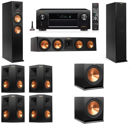 Klipsch RP-260F Tower Speakers-7.2-Denon AVR-X3200W