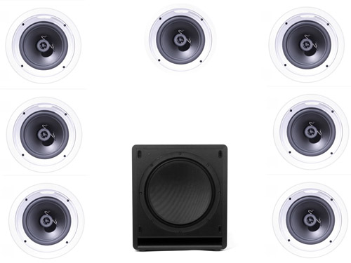 Klipsch R1650 In Wall System #3