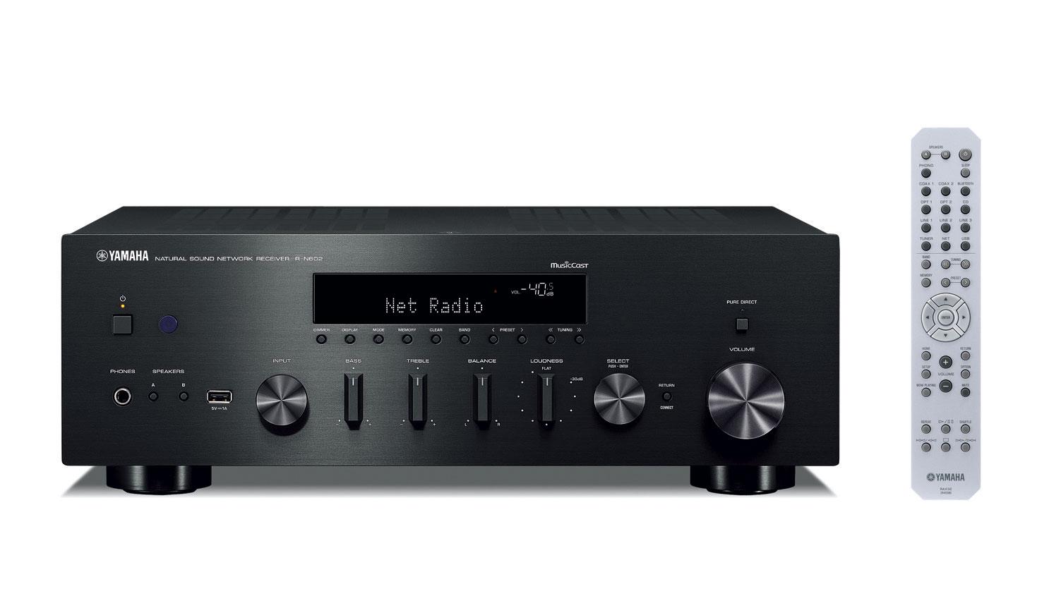 Yamaha R-N602BL Hi-Fi Receiver