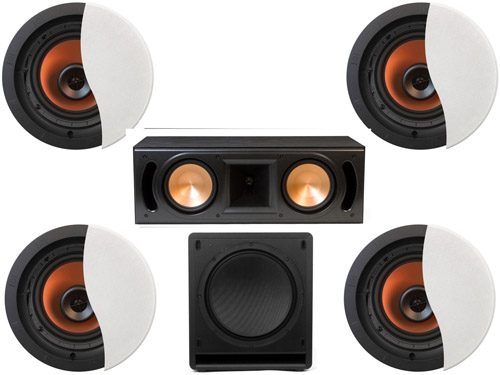 Klipsch CDT5650CII in Wall System #3