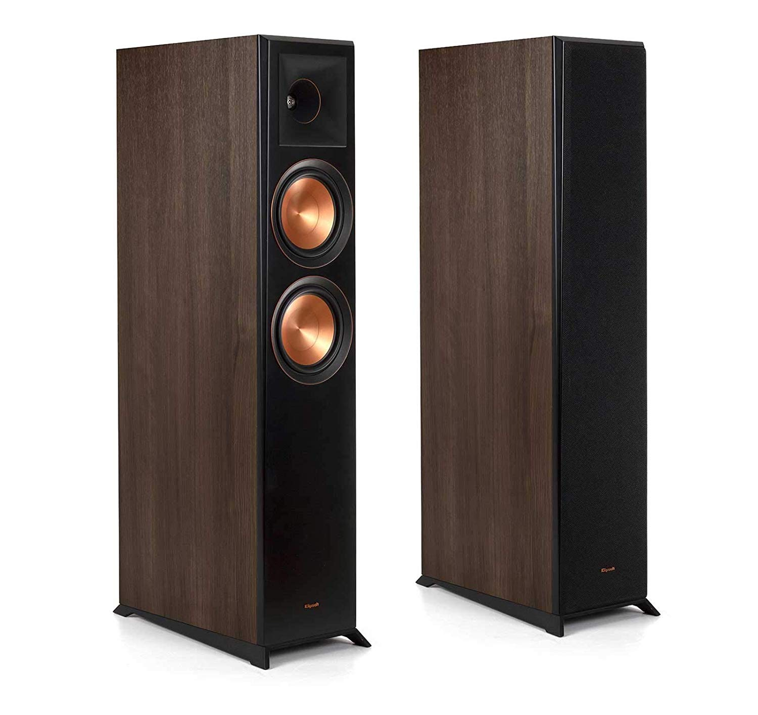 Klipsch Reference Premiere RP-6000F Walnut Floorstanding Speaker - Pair