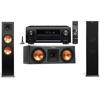 Klipsch RP-280F Tower Speakers-RP-250C-Denon AVR-X4100W