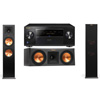 Klipsch RP-280F Tower Speakers-RP-250C-Pioneer Elite SC-85