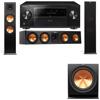 Klipsch RP-280F Tower Speakers-RP-450C-R112SW-3.1-Pioneer Elite SC-85