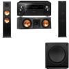 Klipsch RP-280F Tower Speakers-RP-250C-SW-112-3.1-Pioneer Elite SC-85