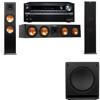 Klipsch RP-280F Tower Speakers-SW-112-3.1-Onkyo TX-NR838