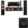 Klipsch RP-280F Tower Speakers-SW-112-3.1-Denon AVR-X4100W