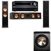 Klipsch RP-280F Tower Speakers-RP-450C-PL-200-3.1-Pioneer Elite SC-85
