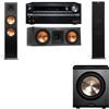 Klipsch RP-280F Tower Speakers-RP-250C-PL-200-3.1-Onkyo TX-NR838
