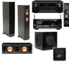 RF-42II 3.1 Home Theater-Denon AVR-X2100W 7.2