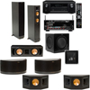 RF-42II 7.1 Home Theater-Denon AVR-X2100W 7.2