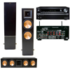 RF-7 II Towers-RC-64II Center (black) Onkyo TX-NR838 7.2