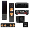 RF-7 II Towers-RC-64II Center (black) SW-310 Denon AVR-X4000