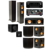 RF-82II 7.1 Home Theater-SW-310-Denon AVR-X4000
