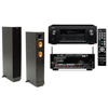 RF-42II Floorstanding Speakers-Denon AVR-X2100W 7.2