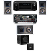 KL-7800-THX 3.1 In Wall-SW-310-Denon AVR-X4000 IN-Command 7.2