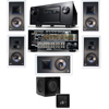 KL-7800-THX 5.1 In-Wall-SW-310-Denon IN-Command AVR-4520CI