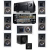 KL-7800-THX 7.1 In-Wall-SW-310-Denon IN-Command AVR-4520CI A/V