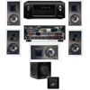 KL-7800-THX 7.1 In Wall-SW-310-Denon AVR-X4000 IN-Command 7.2
