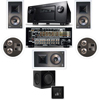 KL-7800-THX 5.1 In-Wall-REAR Ceiling-SW-310-Denon AVR-4520CI