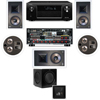 KL-7800-THX 5.1 In Wall-REAR Ceiling-SW-310-Denon AVR-X4000 7.2