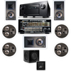 KL-7800-THX 7.1 In-Wall-REAR Ceiling-SW-310-Denon AVR-4520CI A/V