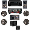 KL-7800-THX 7.1 In Wall-REAR Ceiling-SW-310-Denon AVR-X4000 7.2