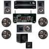 KL-7800-THX .1 In-Wall-REAR Ceiling-SW-310-Onkyo TX-NR838 7.2