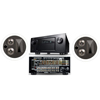 KL-7502-THX In-Ceiling LCR(Pair)-Denon IN-Command AVR-4520CI