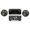 KL-7502-THX In-Ceiling LCR(Pair)-Denon AVR-X4000 IN-Command 7.2