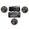 KL-7502-THX In-Ceiling LCR(3 Each)-Denon IN-Command AVR-4520CI