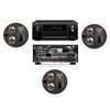 KL-7502-THX In-Ceiling LCR(3 Each)-Denon AVR-X4000 IN-Command 7.2