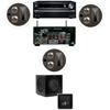 Klipsch KL-7502-THX 3.1 In-Ceiling System-Onkyo TX-NR838 7.2-Ch Network- White