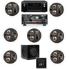 KL-7502-THX 7.1 In-Ceiling System-Denon AVR-X4000 IN-Command 7.2