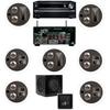 Klipsch KL-7502-THX 7.1 In-Ceiling System-Onkyo TX-NR838 7.2-Ch Network- White