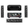 KL-6504-THX In-wall LCR Speaker(3Each) Denon AVR-X4000 IN-Command 7.2