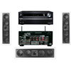 KL-6504-THX In-wall LCR Speaker(3Each) Onkyo TX-NR838 7.2Ch