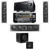 KL-6504-THX In-wall 3.1-SW-310-Denon IN-Command AVR-4520CI