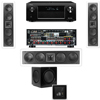 KL-6504-THX In-wall 3.1-SW-310-Denon AVR-X4000 IN-Command 7.2Ch